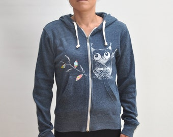 Women Owl  hoodie