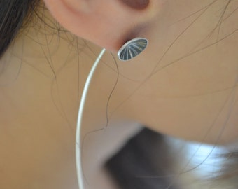 Moonlight - sterling silver earrings
