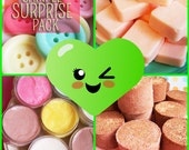 Sample Surprise Pack - Trial, Mini Soaps, Party Favors, Tester, Samples, Soap Pack, Small Soaps, Birthday Gift, Soap Set, Teen Gift, Fun