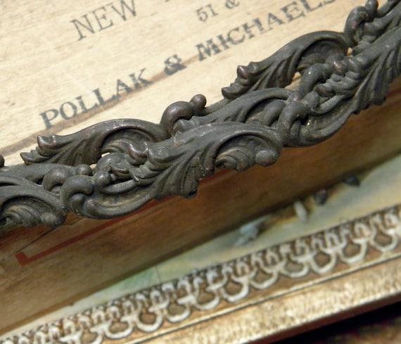 Vintage Brass Decorative Metal Trim Supply By Ohmymilky On