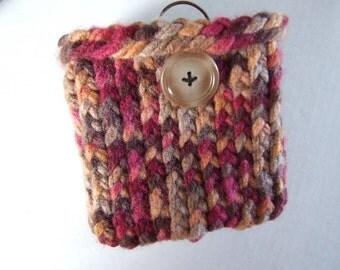 Chunky Sunset tones  Mini bag