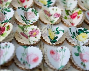 SALE: Rose theme party, Flower garland, Rustic wedding decor, Summer party decorations, Summer wedding, Floral garland, Wedding backdrop