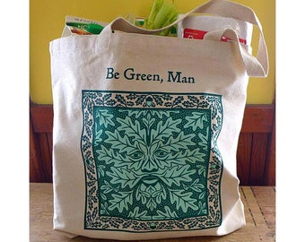 Be Green, Man shopping bag
