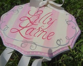 Personalized Elegant Hair Bow Holder Choose Your Colors  Large Size  Original
