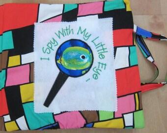 I Spy Fabric Book -- Retro