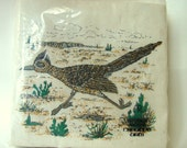 Roadrunner Party Napkins - Cocktail or Boys Desert Birthday - Set of 40