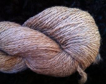 Icelandic-Shetland Brown Yarn 2ply Sport Weight
