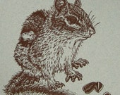 Chipmunk Notebook