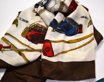 Vintage Studio D Milano Silk Scarf