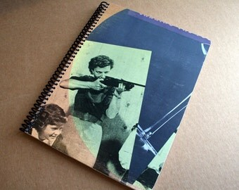 Rough Trade Record Album Blank Notebook- Upcycled Journal, Sketch book