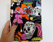 Kindle Cover Day of the Dead Print Hardcover for Kindle Paperwhite kindle 4 case