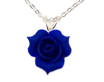 Rosebud Necklace - Rosebud Jewelry