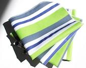 FREE OFFER Reusable ORGANIC Cloth Napkins - Set of 4- Exclusive Organic Prints- Jersey Boy