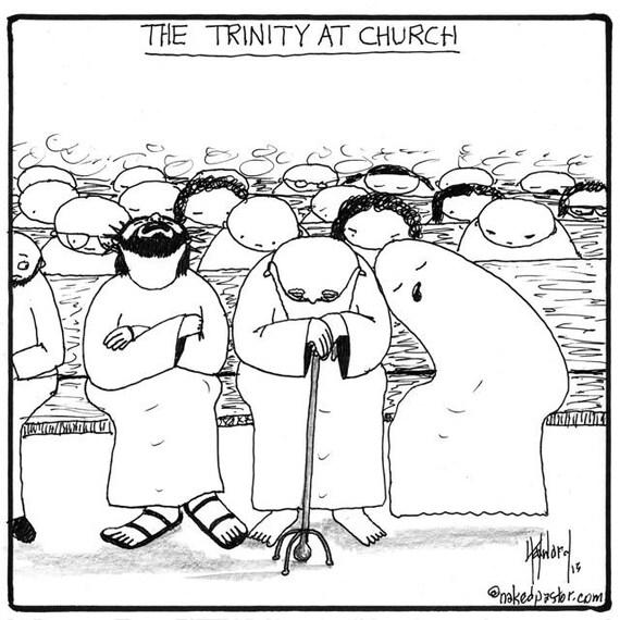 The Trinity at Church PRINT