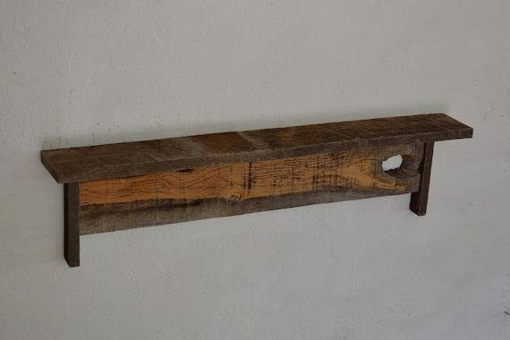 Reclaimed Wood Wall Shelf 31 Wide 4 Deep Stunning By