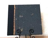 Photo Album Black Mango Leaf- great for Wedding Photo Album, Birthdays, Scrapbook Album, Wedding Guest Book,Scrapbooks,Personalized Album