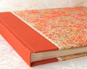 Wedding Photo Album Orange Mum - Great for Weddings, Birthdays, Showers, Babies, Scrapbooks