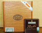 Wood Cigar Box and Bonus Tin