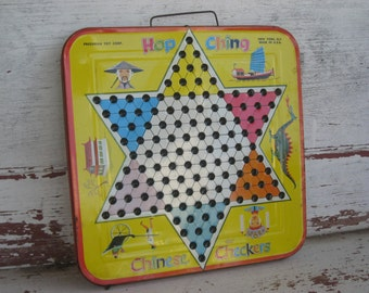 Vintage Chine Checkers Hop Ching by Pressman Toy Corp (4139-W)