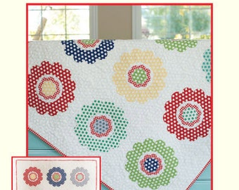 SALE May Flowers Quilt Pattern by Cotton Way