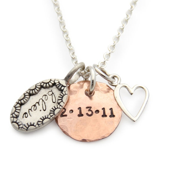 Necklace with date