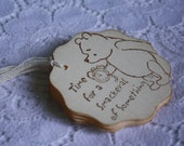 Time for a Smackeral of Something Winnie the Pooh Classic Gift Tag