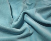 OrganicCotton Winged Prefold-- Turquoise Cotton Velour