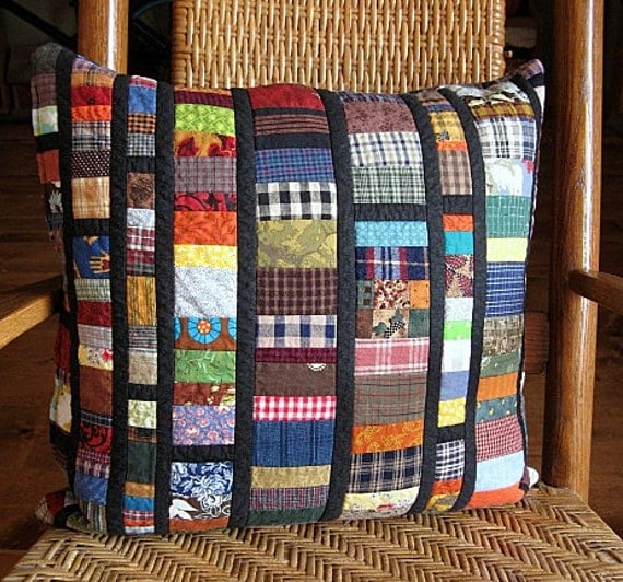 stain glass - quilted reversible pillow cover - echo:home goods no. 44 -  20x20 - ready to ship