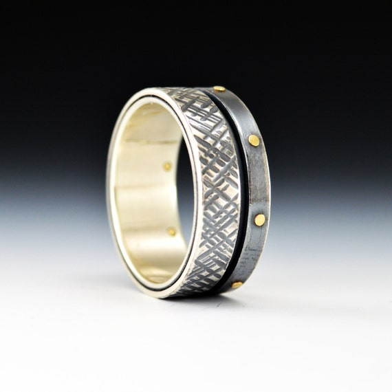 Balance Series promise Silver and Gold Industrial Mens