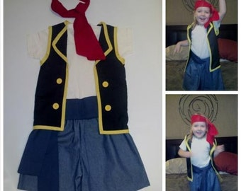 Pirate Costume - Jake