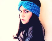 Crochet PATTERN PDF - Turban Cinch Headwrap- Turban Headband - Earwarmer - Easy - Womens Teen - Adult -Softspoken - Pattern No. SS004