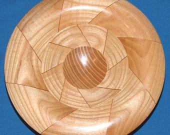 Segmented Ash Woodturning - Metamorph