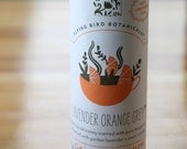 0422 Lavender Orange Grey, fine loose leaf exotic tea crafted with only organic ingredients