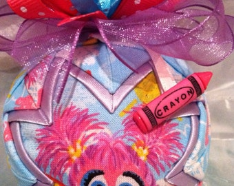 Sesame Street Abby Cadabby Christmas Quilted Ornament Christmas Gift Birthday Gift