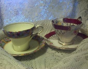 Royal Aynsley  Royal Albert Tea Cup and Saucer Numbered