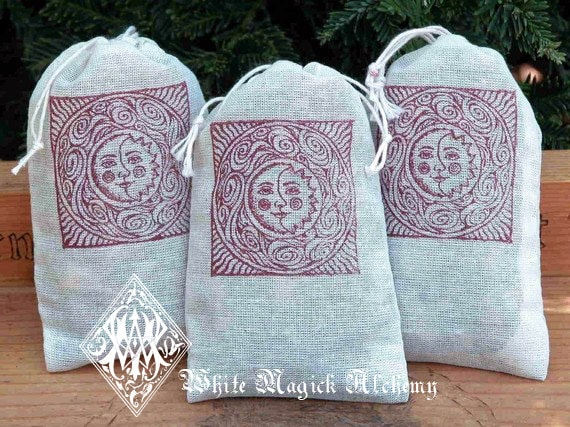 RESERVED 3) Dream Pillow Muslin Pouches - Sweet Dreams