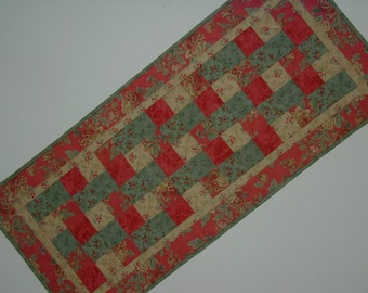 Quilted Five Patch Table Runner (EDTRD)