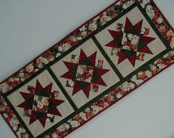 Quilted Star Table Runner (EDTRE)