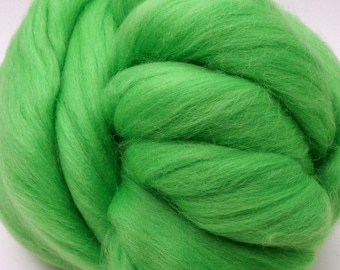4 oz. Merino Wool Top - Leprechaun