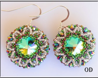 Mohito. Tutorial. Beadwork. Beading Tutorial. RUSSIAN LANGUAGE