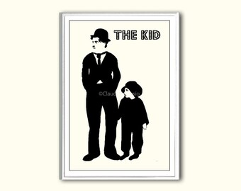 Movie poster The Kid print in various sizes