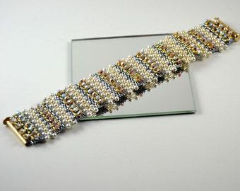 Lulu Belle Bracelet Beading Pattern