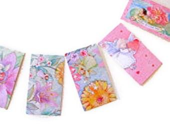 20  Mini Cards, friends for all seasons, school cards, kids, trading cards, friends, trading cards, exchange