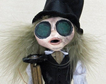 A Victorian Chimney Sweep Art Doll Wedding Gift