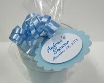 Baby Shower Candle Favors - Its a Boy - 5 - 4oz Soy Jar Candle Baby Boy Favors