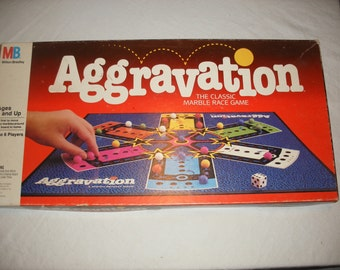 Aggravation Board Game 1989 (T-317)