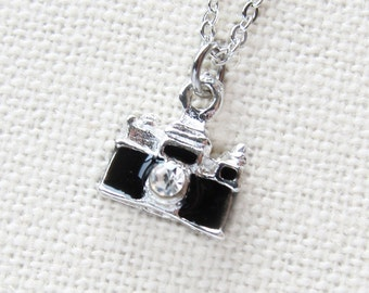 Tiny Camera Necklace  (T3)