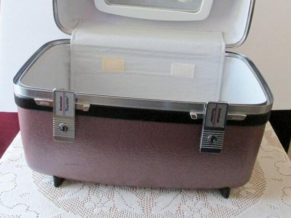 american tourister luggage vanity makeup travel
