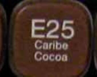 Copic Original Markers E25 Caribe Cocoa