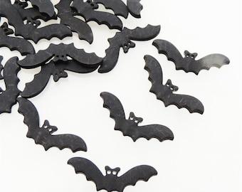 Bat Flatback Buttons by Buttons Galore